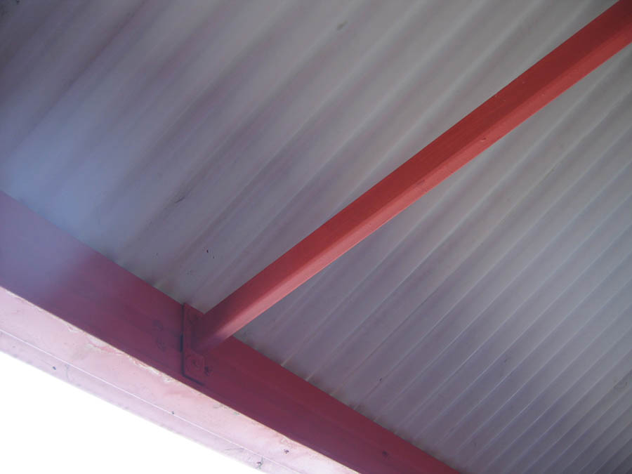 0160 Metalfix CourierPost Roof Rust